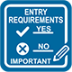 Entry requirements :