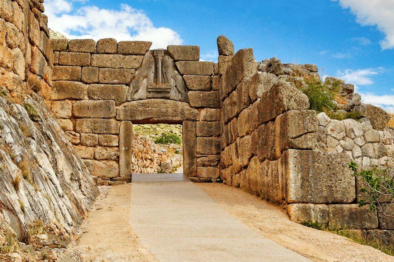 Day 12 : Nafplion - Ancient Epidaurus - Mycenae - Nafplion Km 90.