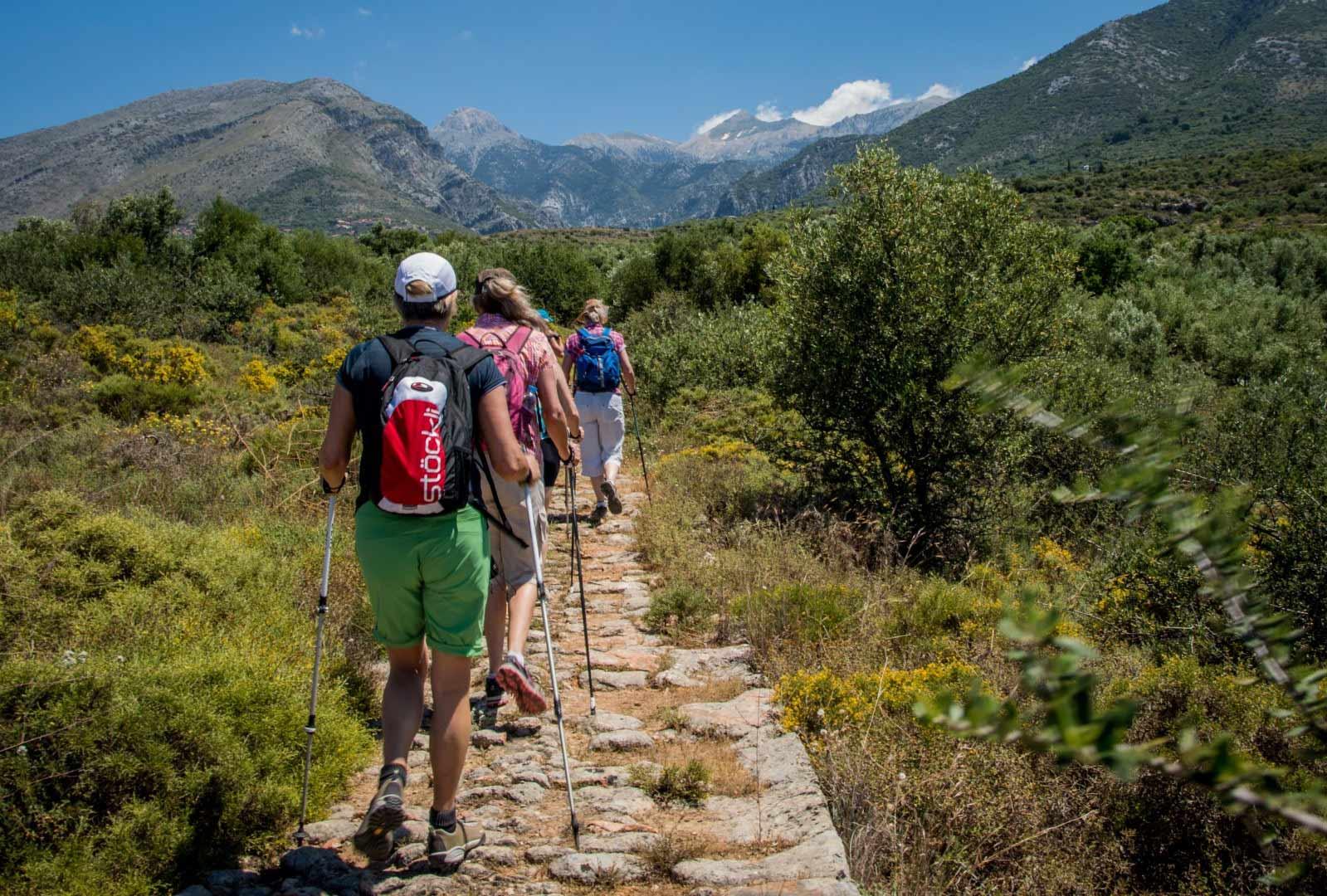 Day 3:  Kardamyli -Tseria - Walk to Vyros Gorge - Kato Chora - Agia Sofia - Petrovouni - Kardamyli Km 15.