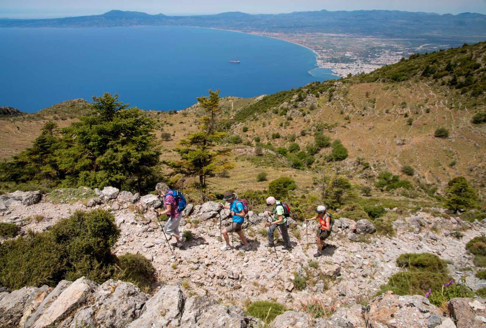Day 9 :Alagonia - Agia Marina - Moni Diomovis - Kalamata Km 40.