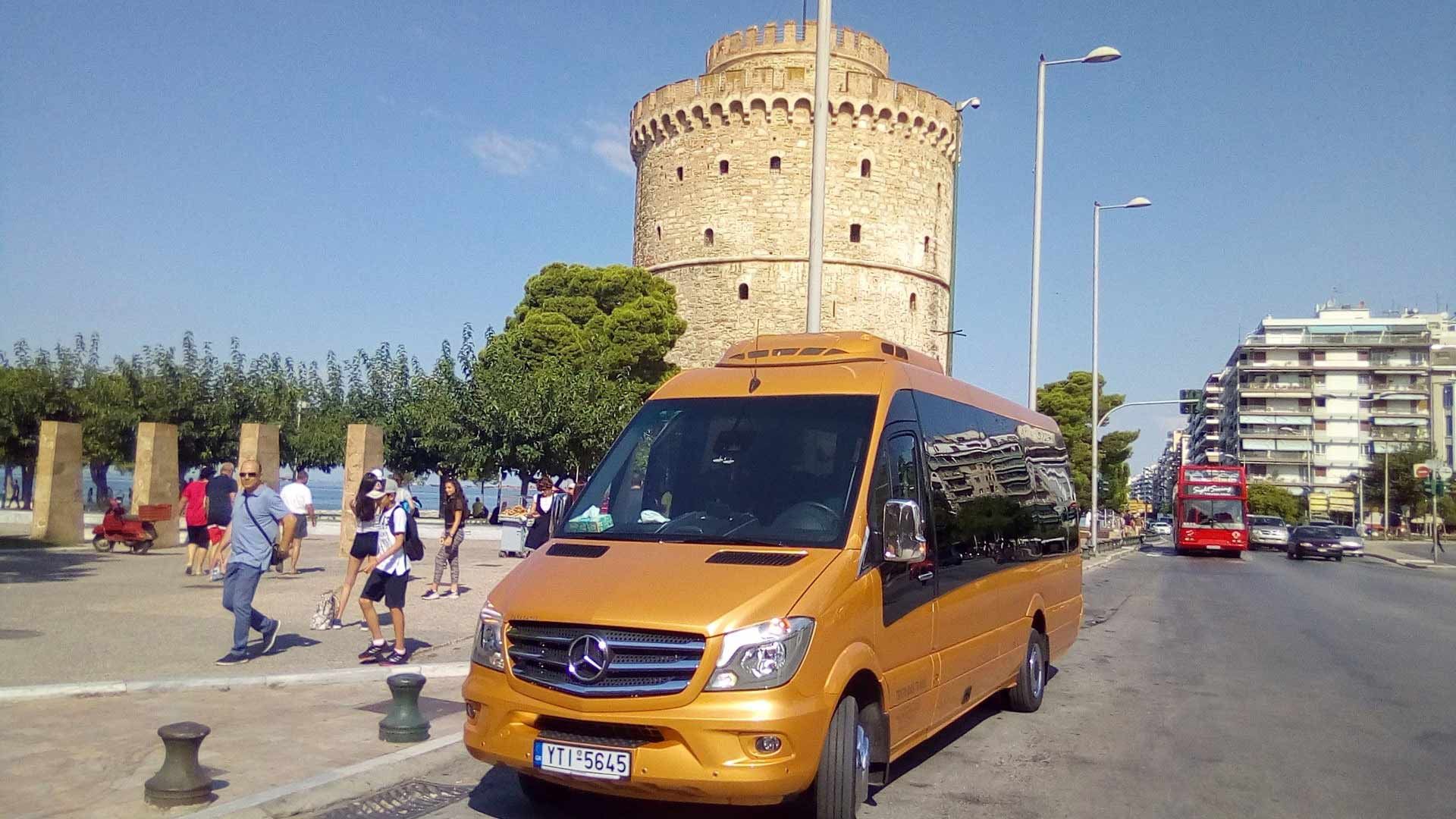 Day 1: Arrival in Thessaloniki airport - Thessaloniki ( Historical center) Km 20.