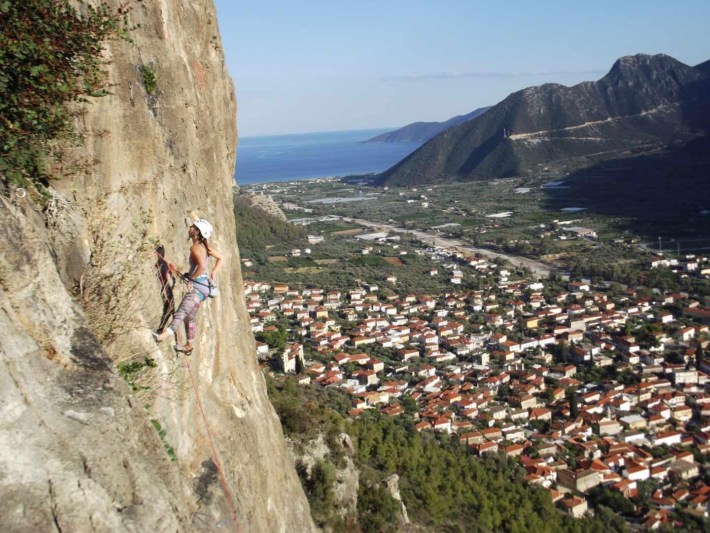 Day 3: Nafplio - Leonidio ( Climbing).