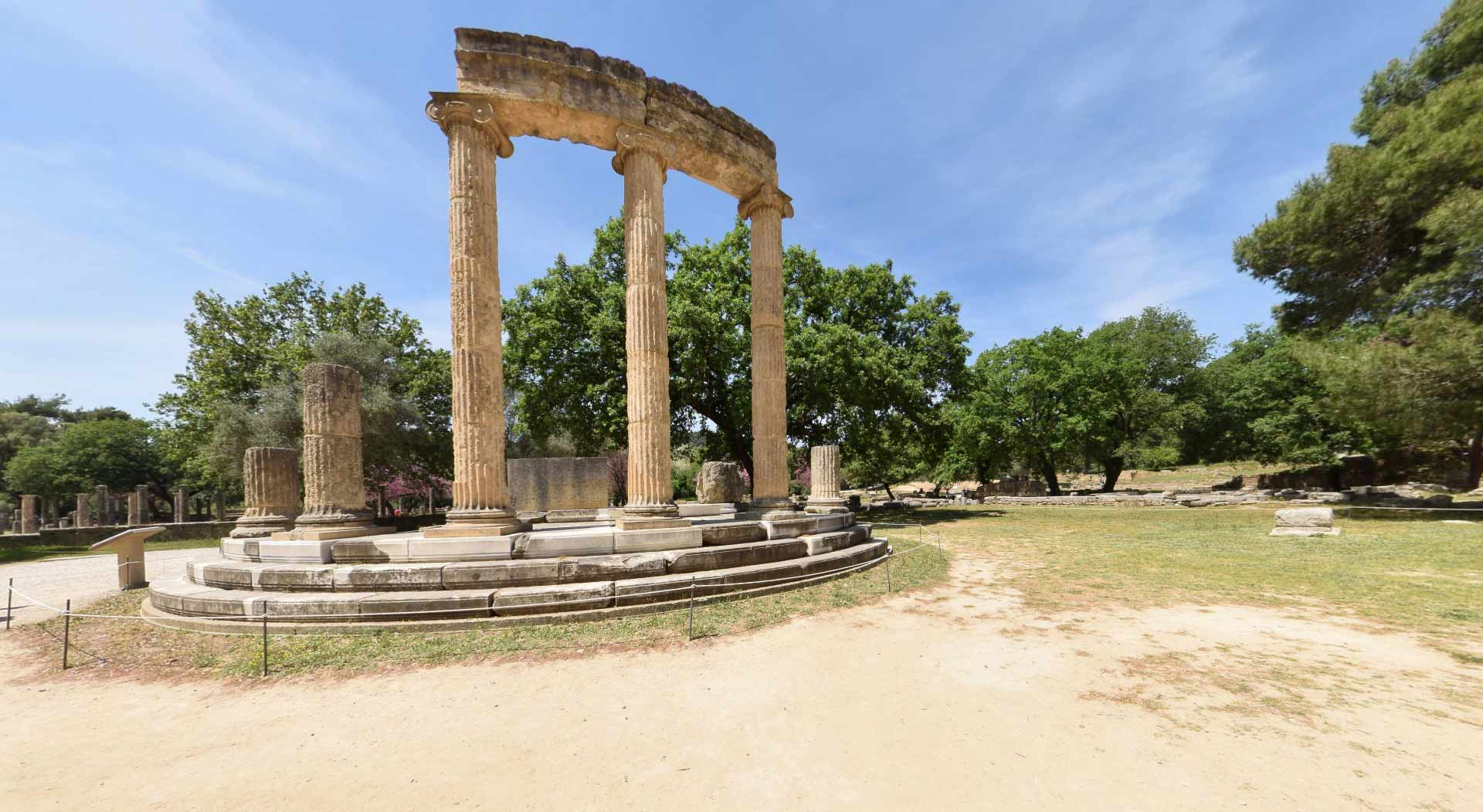 Day 6: Olympia ( Visit site and museum)- Ancient Messini ( Visit site and museum ) - Mavromati - Kalamata Km160